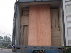loose packing loading of plywood china