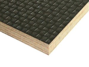 Phenolic Resin Faced Plywood - Square Texture