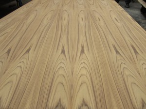 crown cut sliced burmese teak plywood china india