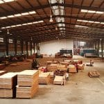 plywood factory industry