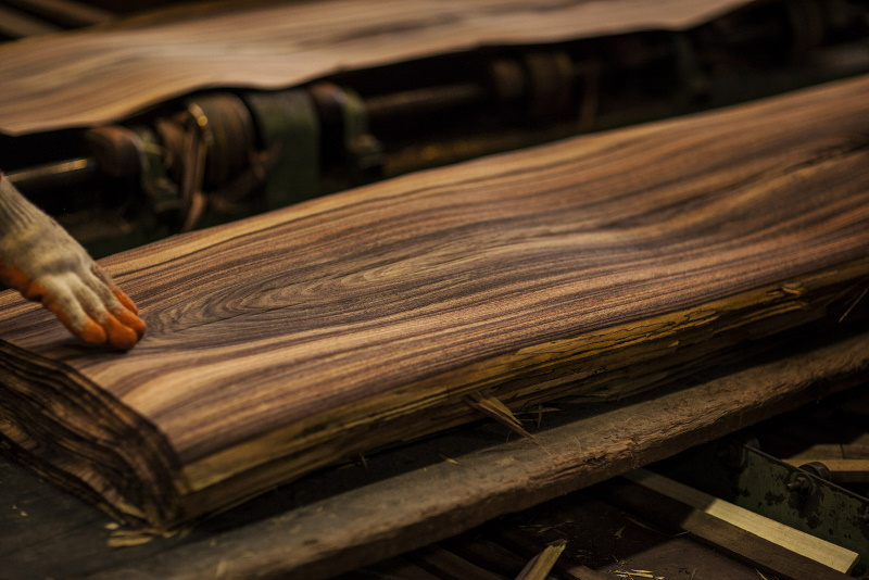 tropical hardwood veneers